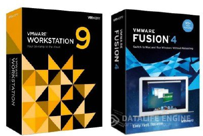 VMware Workstation 9 + VMware Fusion 4.1 (2012)