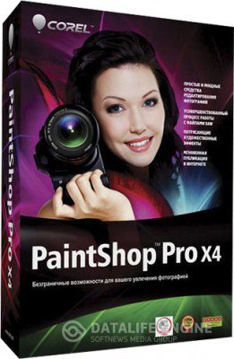 Corel PaintShop Pro X4 14.1.0.5 SP1 x86 [2012, MULTILANG + RUS] + Crack