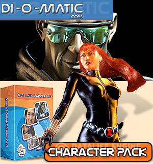 Di-O-Matic Character Pack 1.6 for 3ds Max x86+x64 [2012, ENG] + Crack