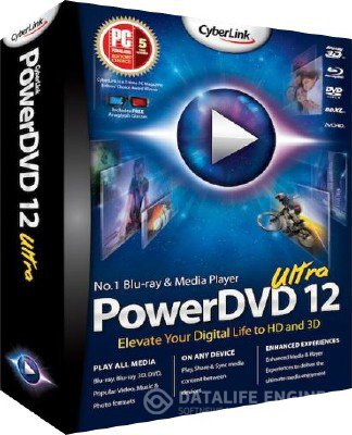 CyberLink PowerDVD Ultra 12.0.2118a.57 [Multi/Rus] + Crack