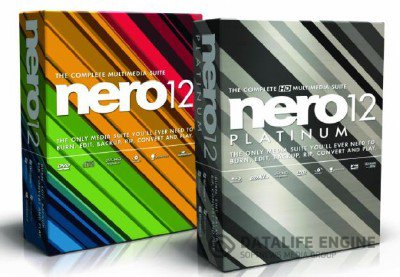Nero 12.0.02000 Full + Content Pack RePack x86+x64 [2012, ENG + RUS]