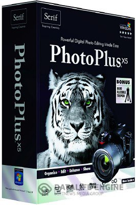 Serif PhotoPlus X5 v.15.0.100.54 Portable [2012, Rus]