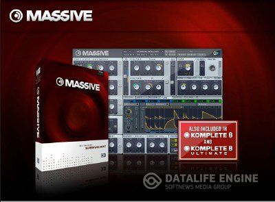 NI Massive 1.3.0 R2050 STANDALONE AU VST RTAS for Mac OS X x32, x64 [Intel] [Lic] + Crack