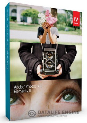Adobe Photoshop Elements v.11 LS15 [2012, Multi+ Русский] + Serial
