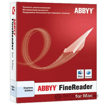 ABBYY FineReader Express Edition for Mac 8.3 [Universal] [2012, Eng+Rus] + Serial