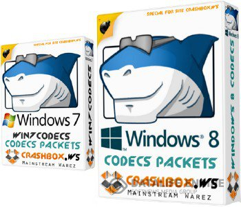 Win7codecs 3.8.6  / Win8codecs 1.28 + (x64 Components)