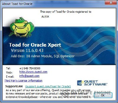 Quest Toad DBA Suite for Oracle 11.6 0.43 Commercial x64 [2012, ENG] + Crack