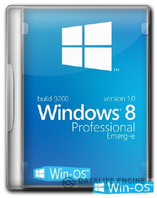 Windows 8 Professional EMERG-E v1.0 х64 [11.2012, Русский]