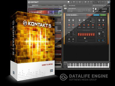 Native Instruments - Kontakt 5.0.3 UPDATE (DYNAMiCS) x86+x64 [03.07.2012] + Crack