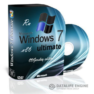 Microsoft Windows 7 Ultimate Ru x86 SP1 7DB by OVGorskiy 11.2012