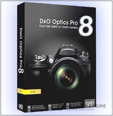 DxO Optics Pro 8.0.1 Build 756 x86+x64 [2012, ENG + RUS] + Crack
