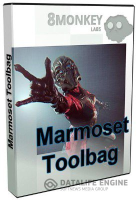 Marmoset Toolbag 1.06 for Mac OS (2012, English) [Intel] [K-ed]