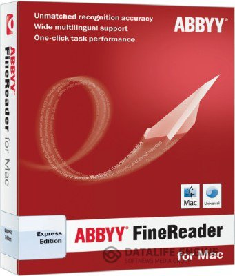 ABBYY FineReader Express 8.0.0.4125 for Mac OS [2012, RUS] [Intel] + Serial