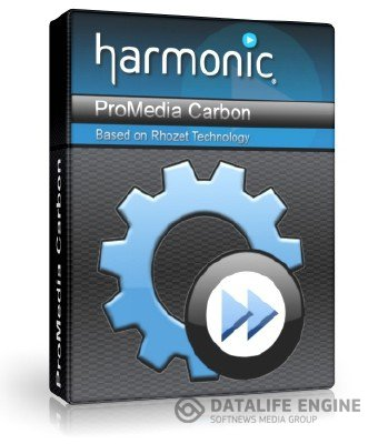 Harmonic ProMedia Carbon (formerly Rhozet Carbon Coder) 3.20.0.38542 [2012, ENG]