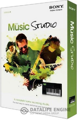 Sony - Acid Music Studio 9.0 Build 37 x86 [2012, ENG + RUS] + Crack