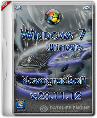 Windows 7 Ultimate SP1 x64 NovogradSoft [v.23.11.12] [Русский]