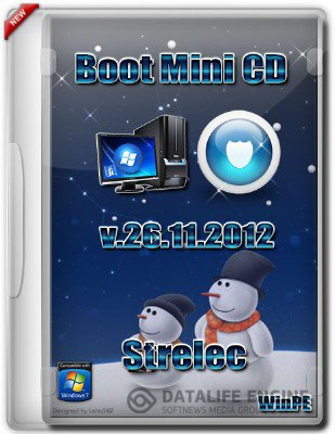 Boot CD Strelec х86 (Acronis+Paragon) 26.11.2012 [Русский]
