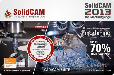 SolidCAM 2013 SP0 for SolidWorks 2011-2013 x86+x64 [2012, MULTI+RUS] + Crack