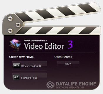 Portable Wondershare Video Editor 3.1.1 [12.2012, ENG/RUS]