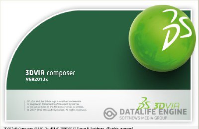 DS 3DVIA Composer V6R2013x SP0 build 6.11.1.2254 x86+x64 [2012, MULTI+RUS] + Crack
