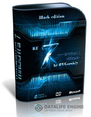 Windows 7 Ultimate Ru x64 SP1 Black by OVGorskiy 12.12 (2012) [Pусский]