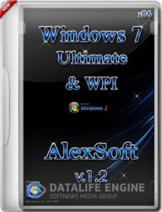 Windows 7 Ultimate SP1 x86 & WPI by AlexSoft v.1.2 (2012) [Русский]