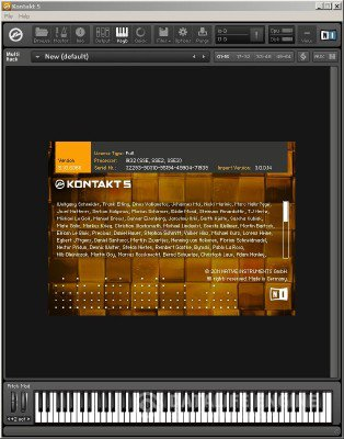Native Instruments - Kontakt 5.1.0 STANDALONE.VSTi.RTAS x86+x64 [18.12.2012] Cracked