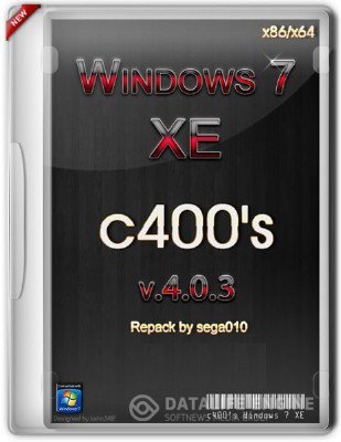 c400's Windows 7 XE v.4.0.3 x86/x64 KIT [Rus/Eng] (Перепаковано sega010 25.12.2012)