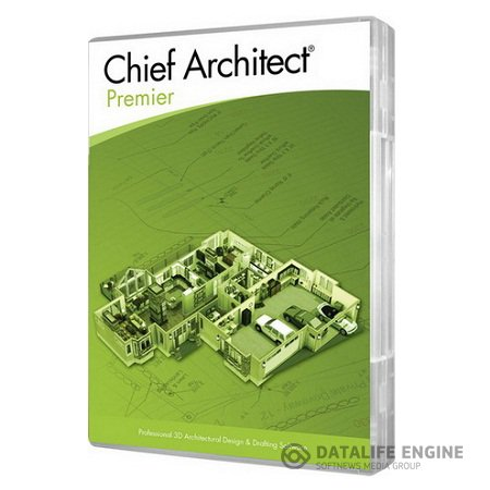 Chief Architect Premier X5 ( 15.1.0.25, Eng/Rus )