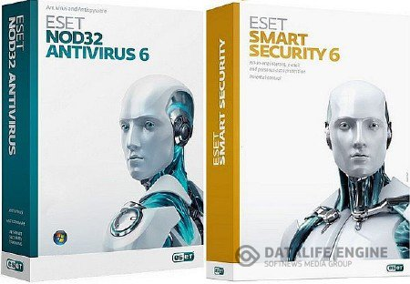 ESET NOD32 AntiVirus / ESET Smart Security 6.0.308.2 Final (RePack by SmokieBlahBlah) (2013) RUS